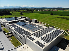 Rosenberger invests in green energy with 3000 PV modules