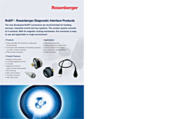 RoDi - Rosenberger Diagnostic Interfaces